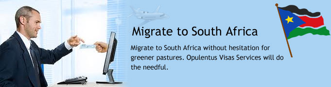 Migrate to South Africa